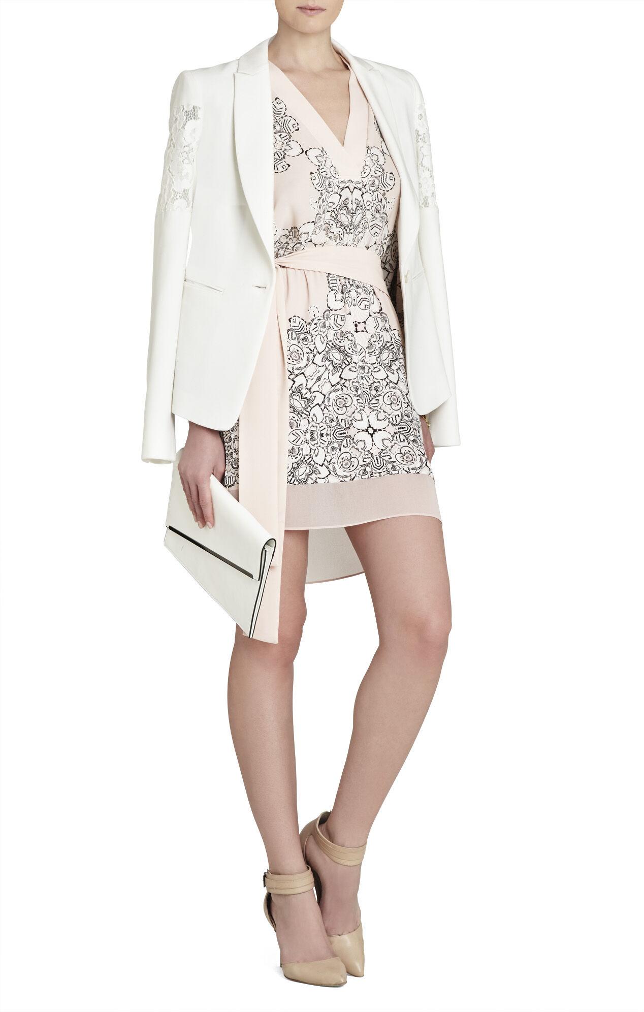 Sassa Kimono-Sleeve Short Dress