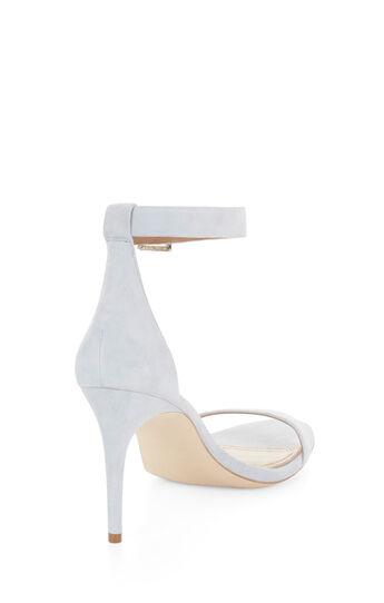 Palm Mid-Heel Suede Sandal
