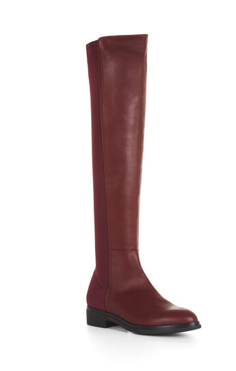 Matteo Over-The-Knee Leather Boots