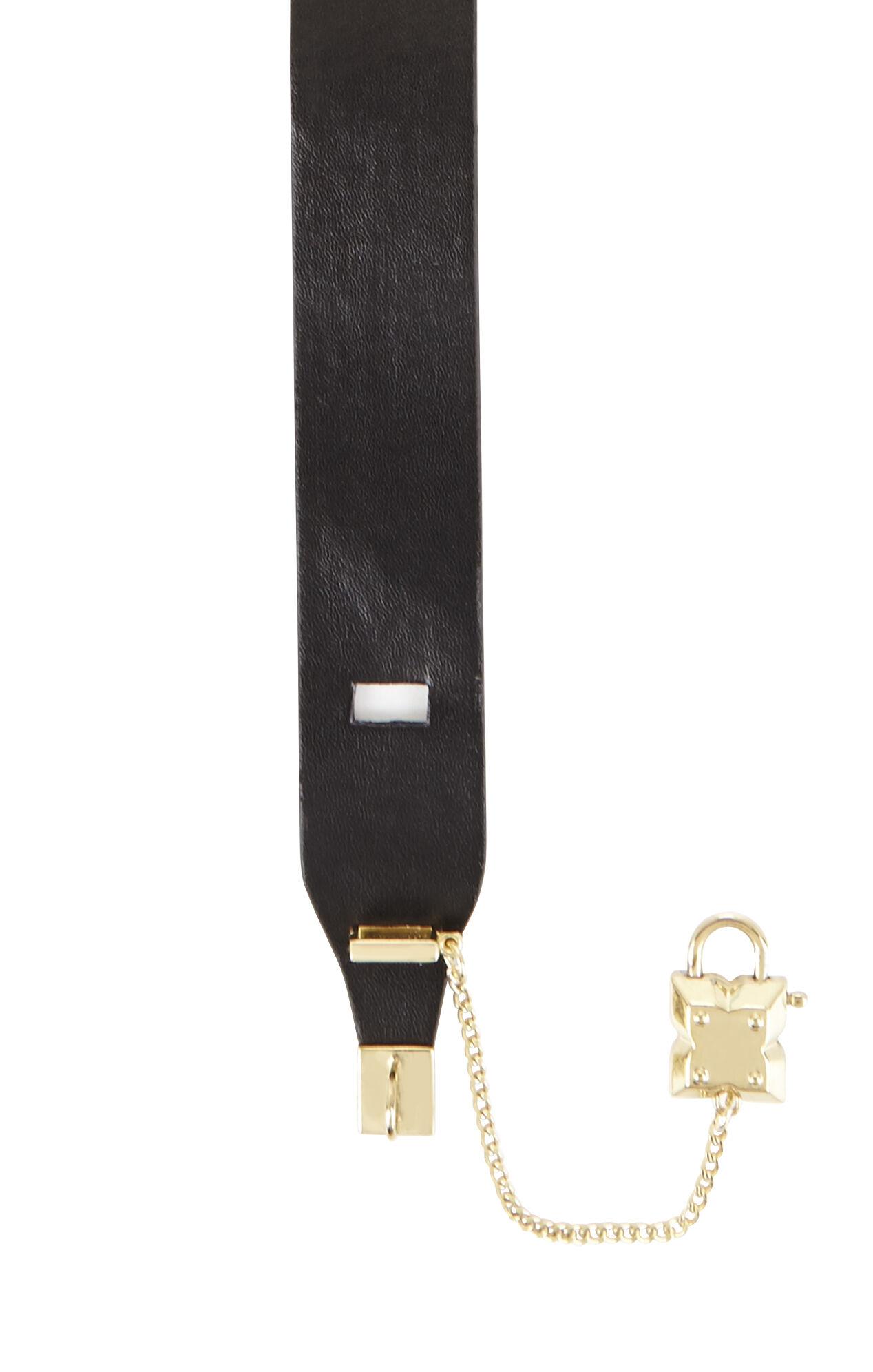 Icon Lock Wrap Bracelet