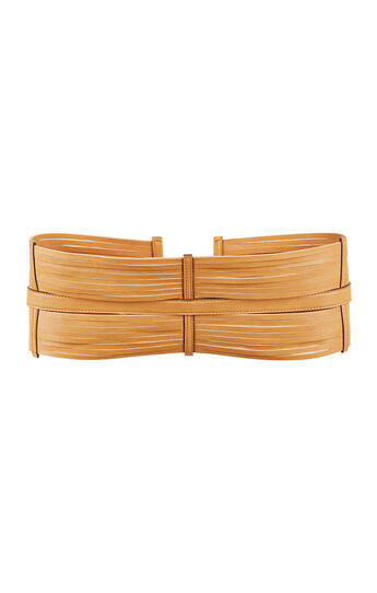 Strappy Faux-Leather Waist Belt