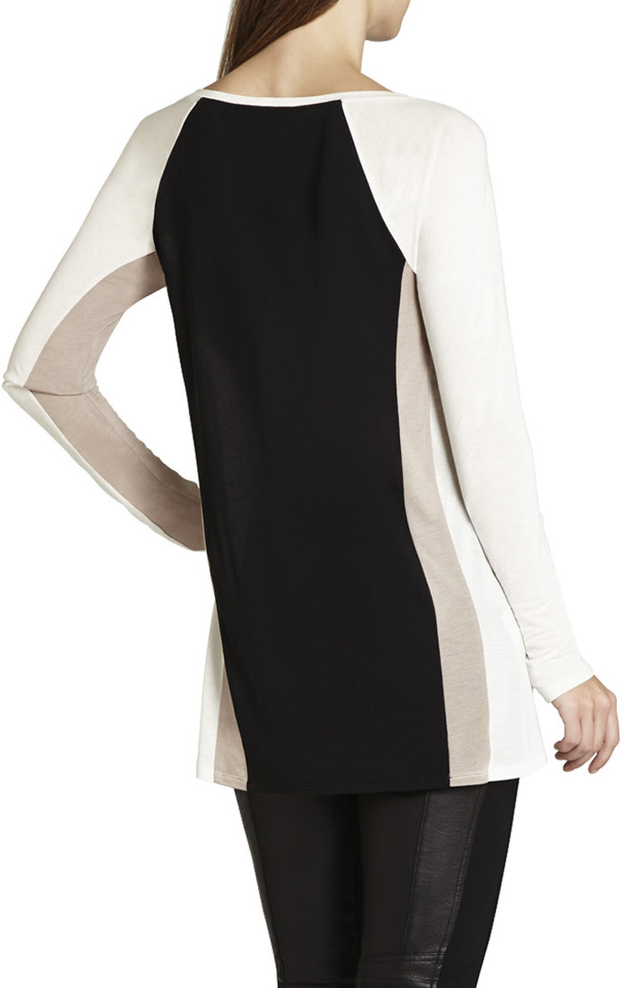 Olay Color-Blocked High-Low Top
