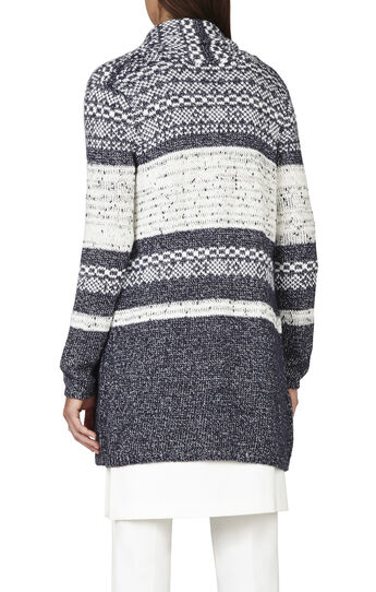 Shadia Fairisle Cardigan