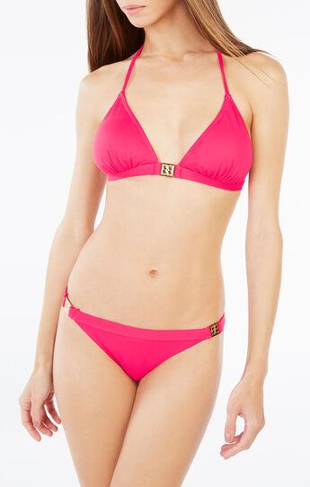 Halter Triangle Bikini Top
