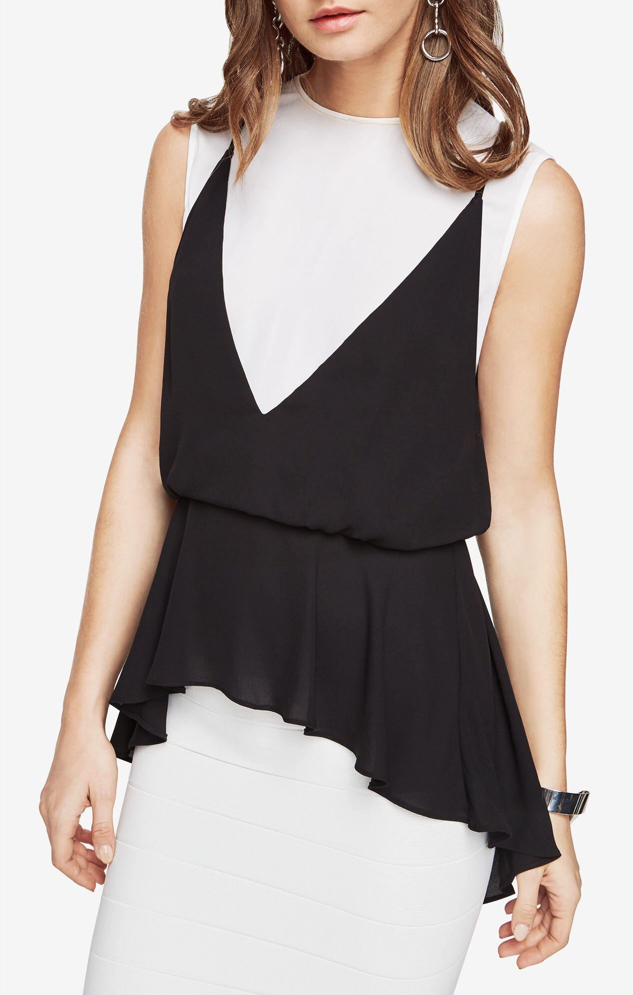 Elain Peplum Top