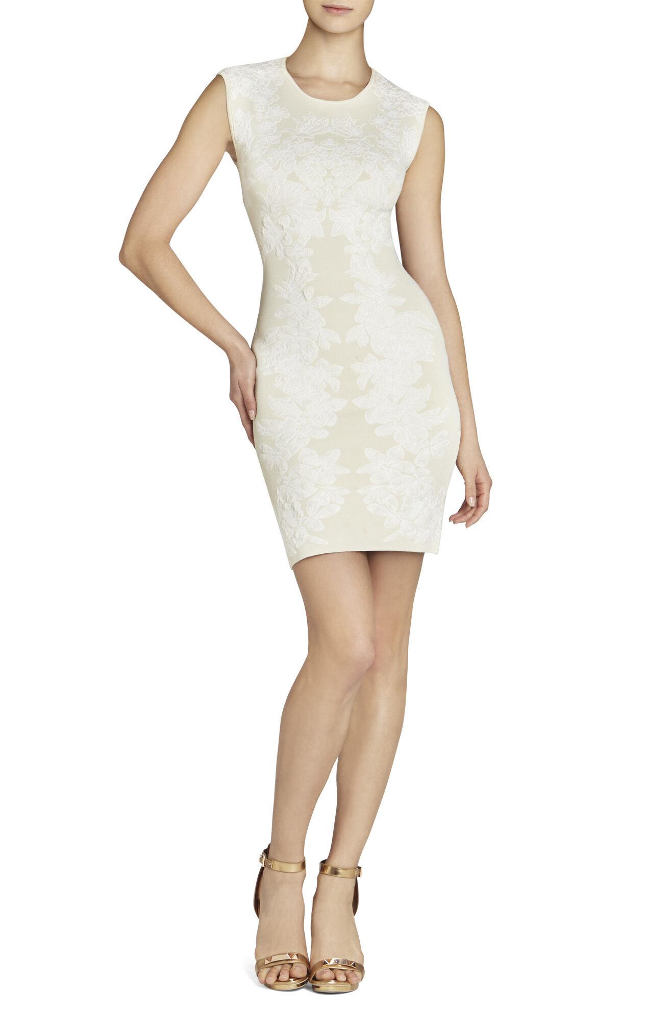 Ellena Floral Jacquard Dress