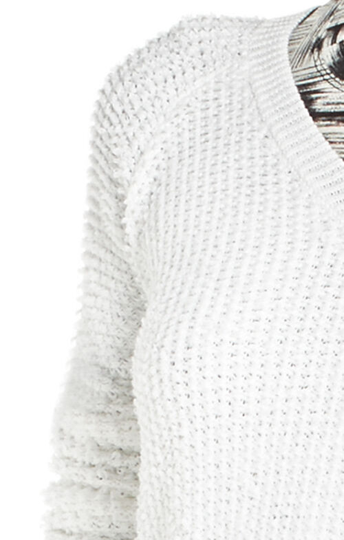 Emmy Relaxed V-Neck Sweater