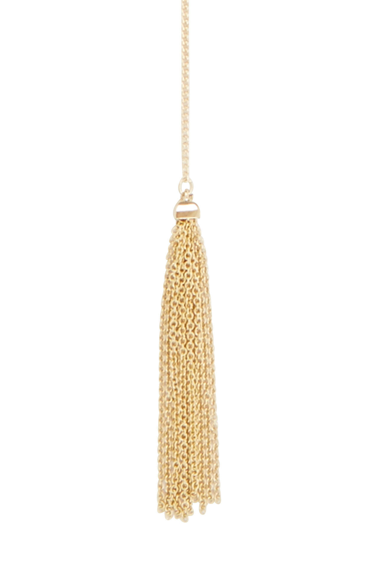 Tassel Lariat Bar Necklace
