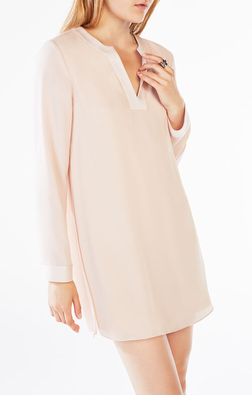Dyanna Long-Sleeve Tunic Dress