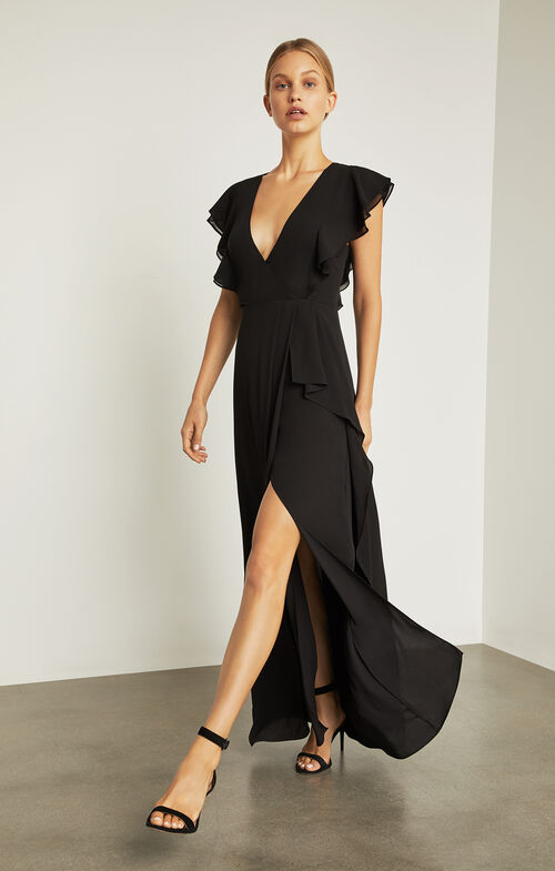 Callie Ruffled Gown