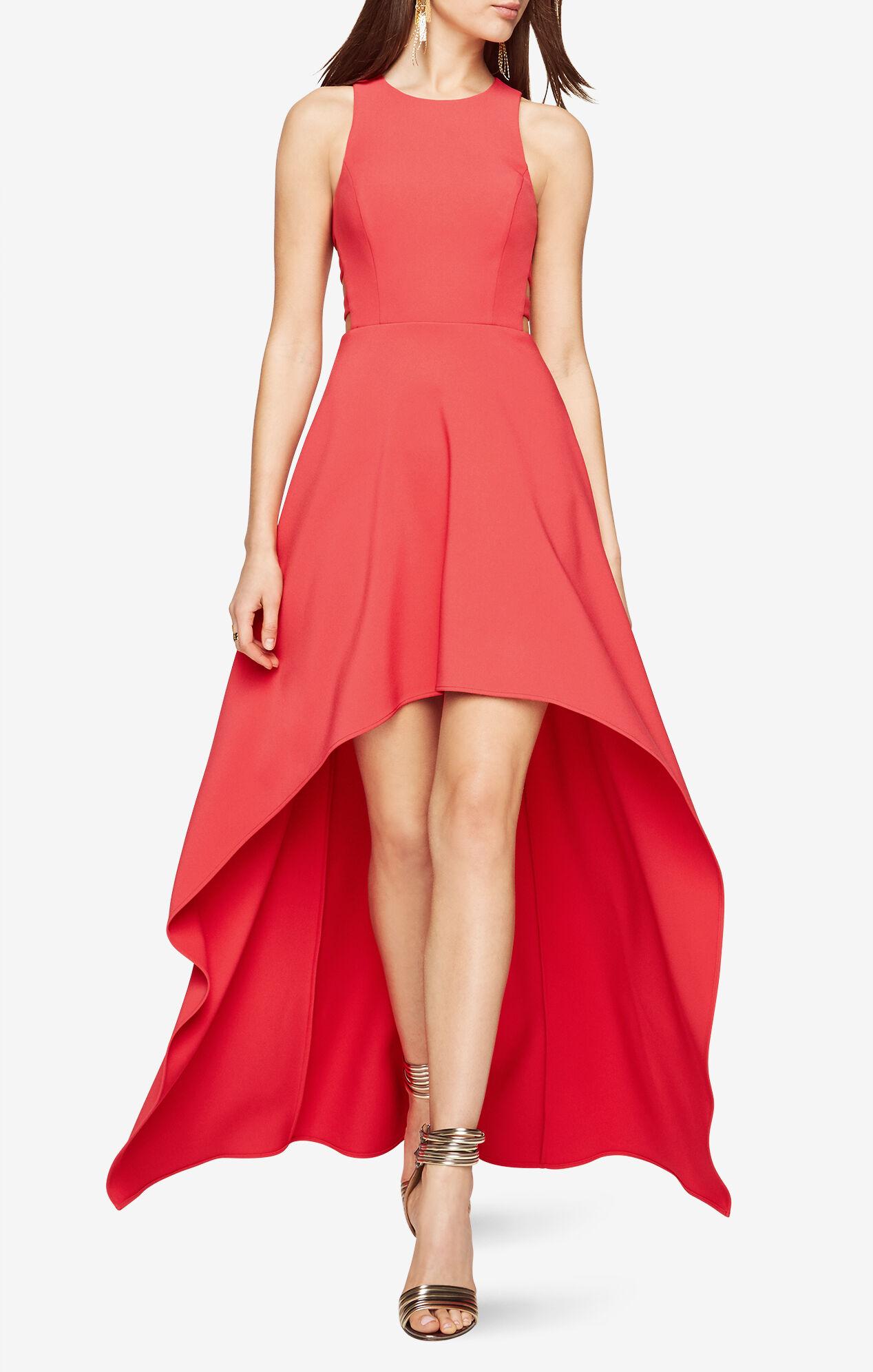 Rosalyn Cutout High-Low Dress