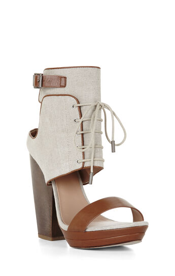 Runway Wilder Lace-Up Day Sandal