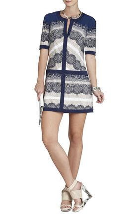 Daly V-Neck Shirt Dress
