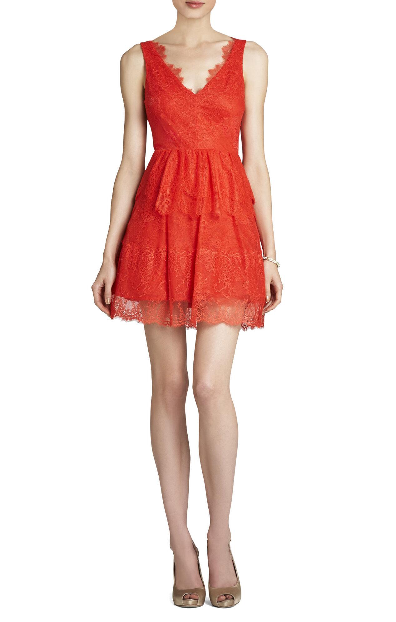 BCBGMAXAZRIA Willa Lace Dress | BCBG.com