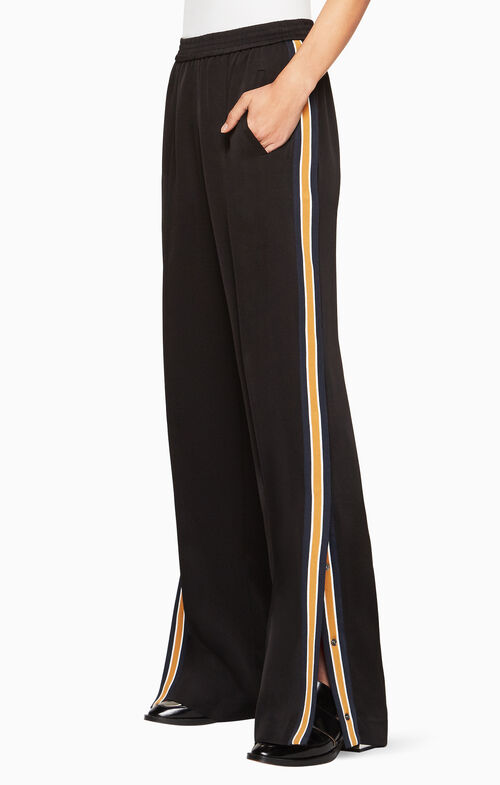 William Striped Wide-Leg Pant