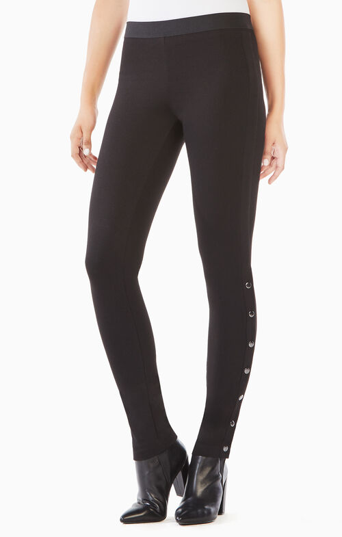 Bobby Side-Snap Leggings