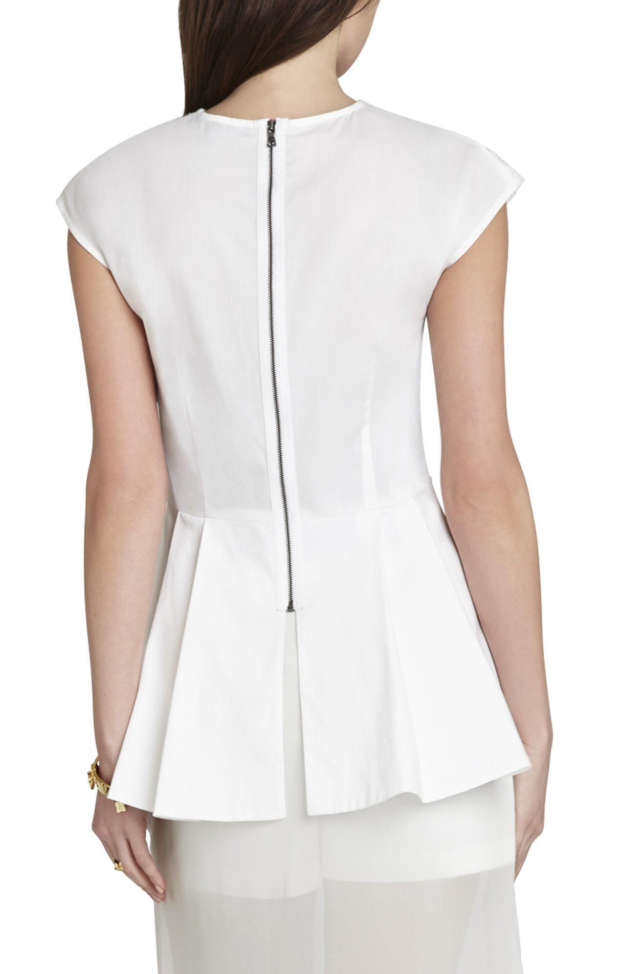 Shanine Wide-Sleeve Relaxed Top