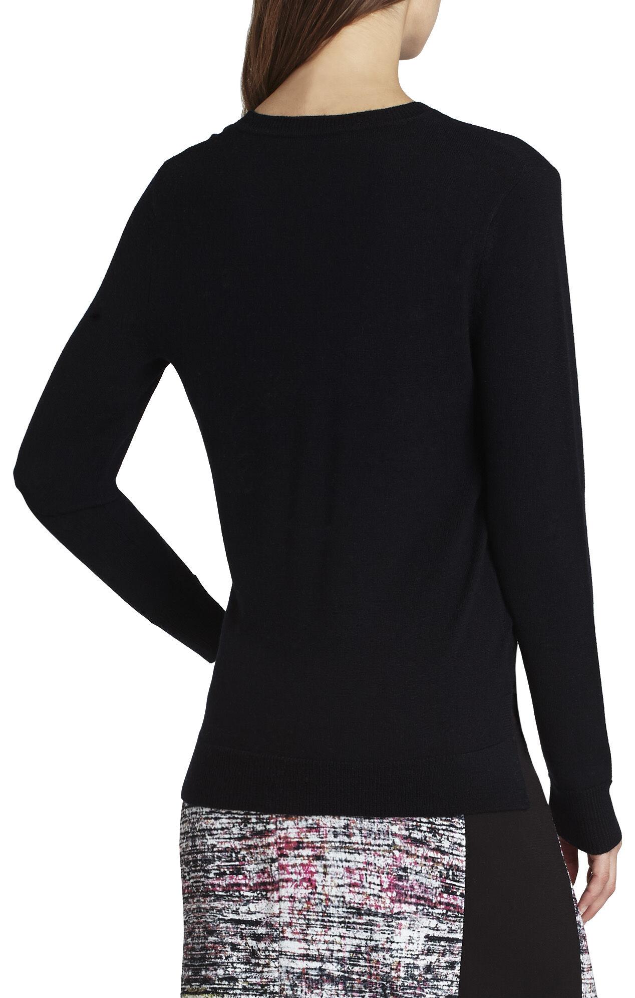 Joice Sheer V-Neck Pullover