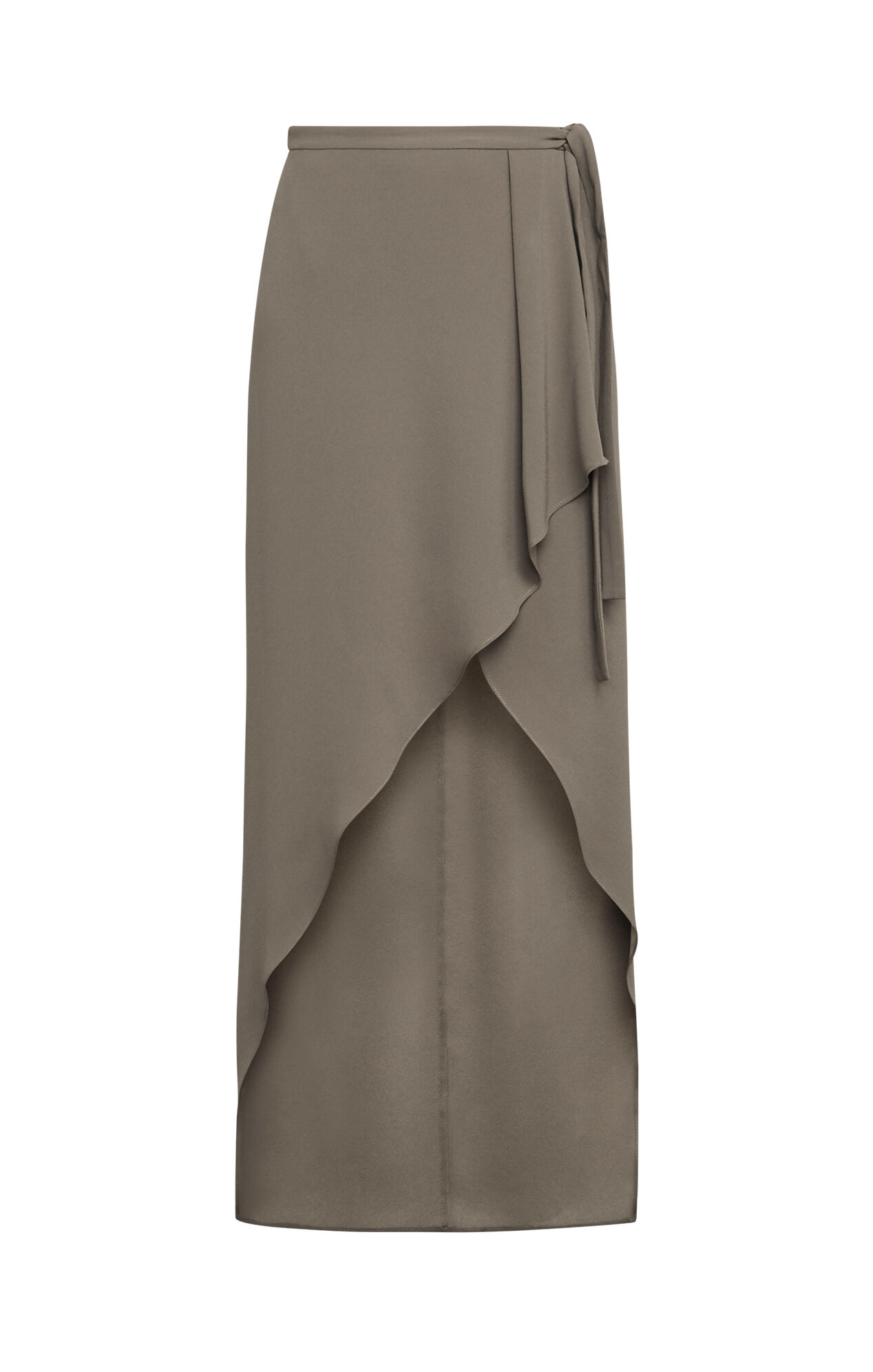 Roxy Asymmetrical Wrap Skirt