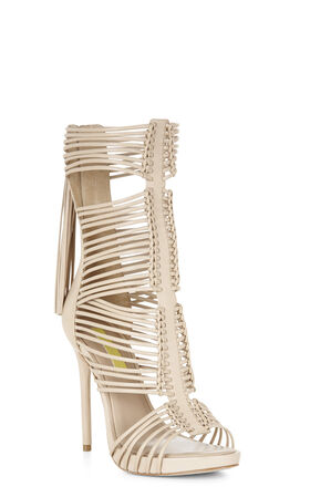 Elista High-Heel Tassel-Detail Sandal