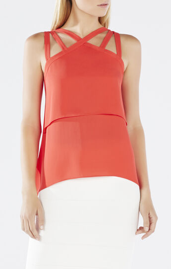 Juliya Multi-Strap Layered Top