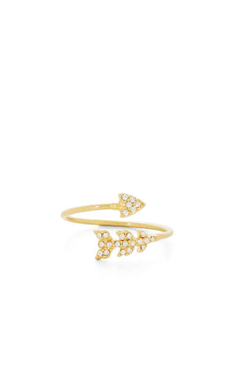 Stone Arrow Ring