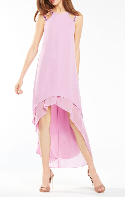 Briele High-Low Cutout Dress