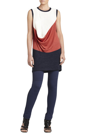 Audri Sleeveless Color-Blocked Pullover