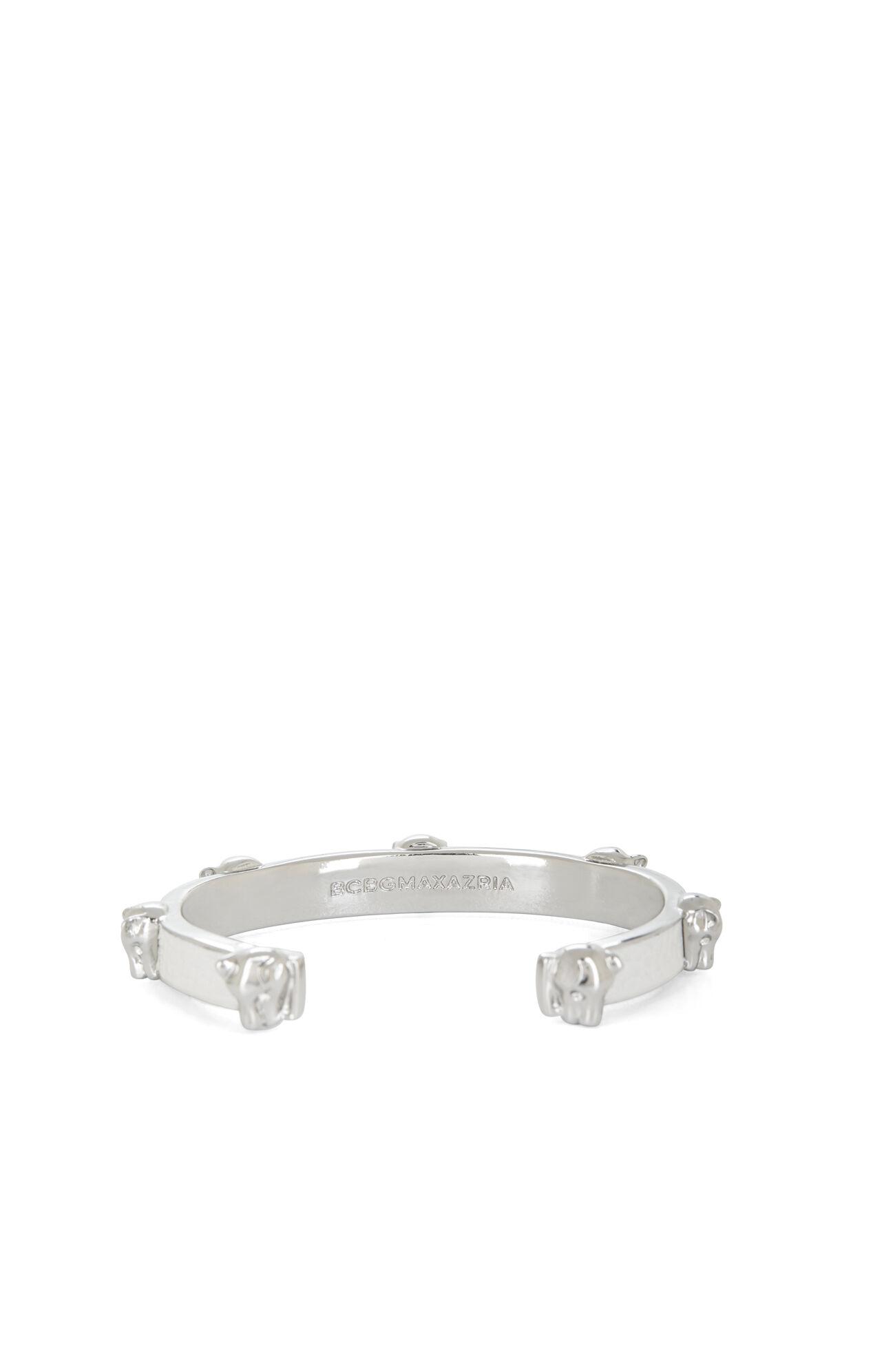 Panther-Inlay Cuff Bracelet