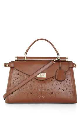 Allie Lasercut Satchel