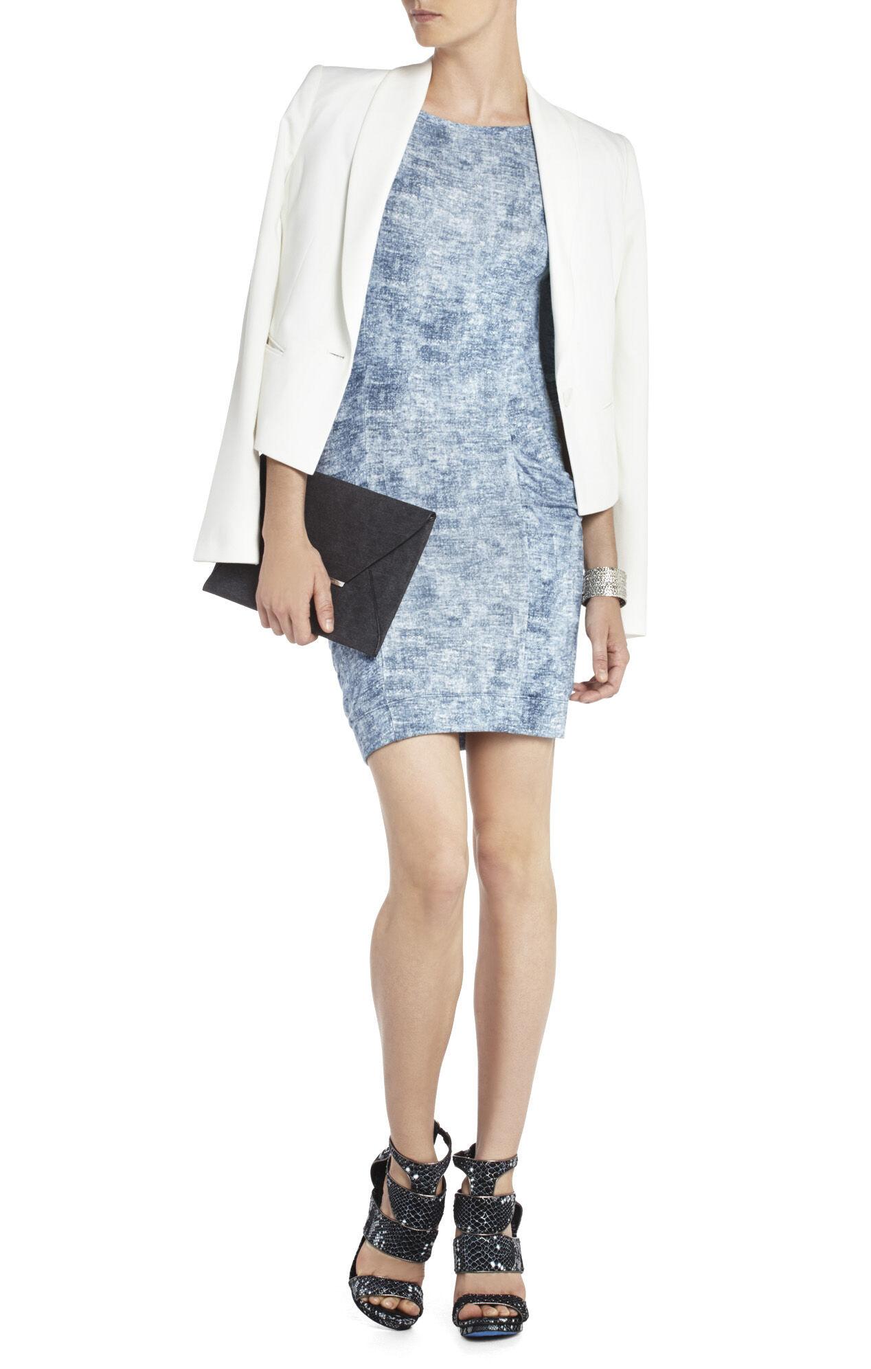 Crista Raglan-Sleeve Tunic Dress