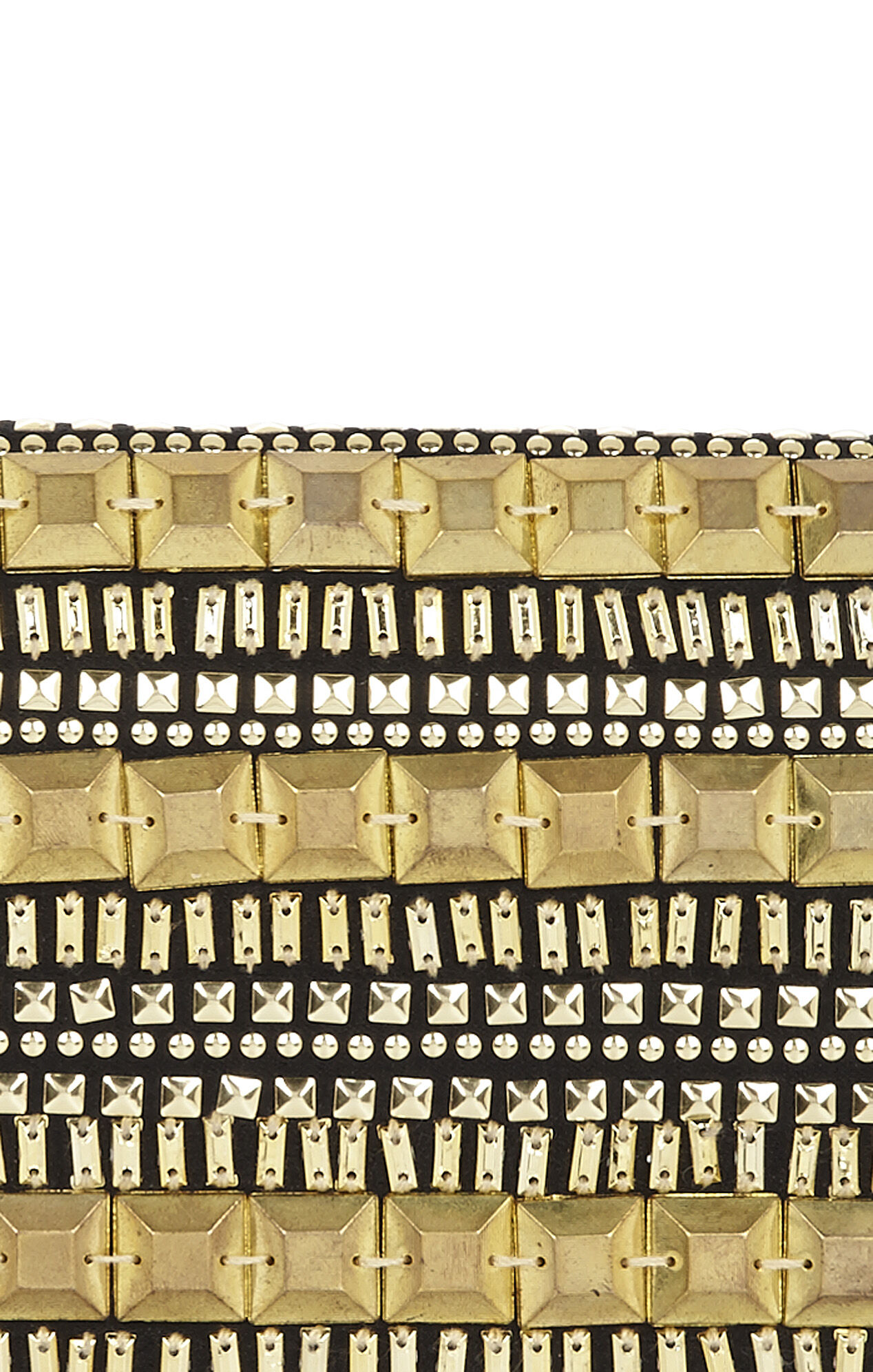 Calista Beaded Baguette Clutch