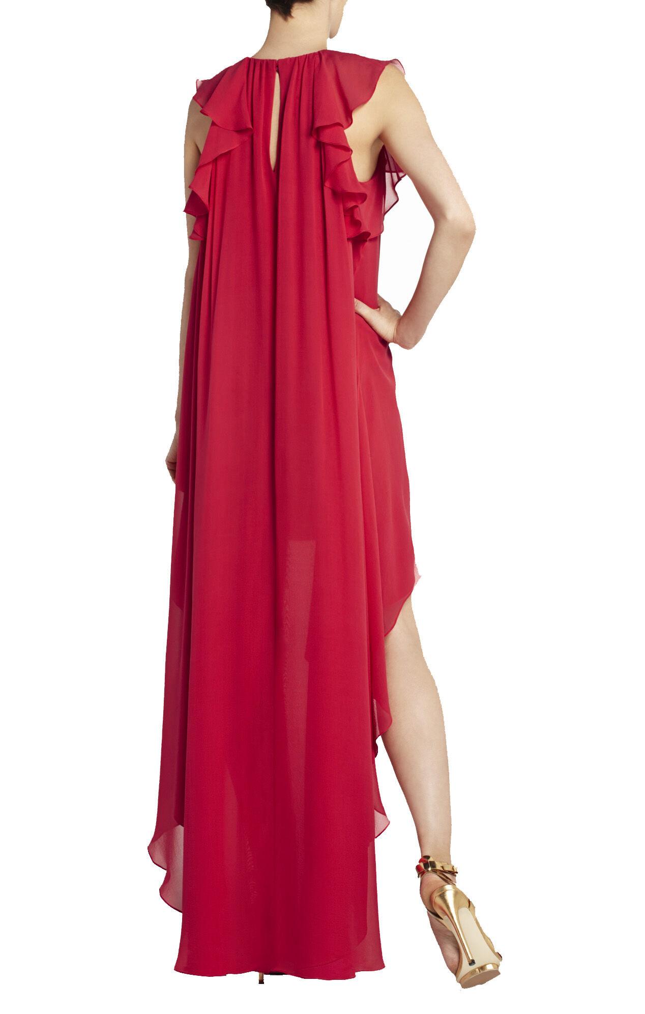 Fais Silk High-Low Dress