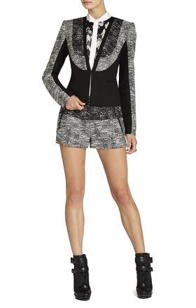 Dallin Blocked Tweed Jacket