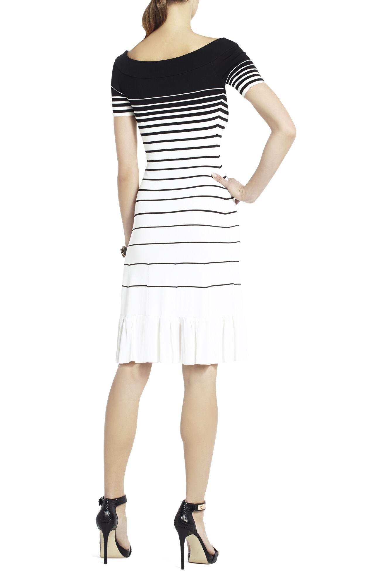 Agnese Gradient Stripe Dress