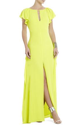 Julianne Side-Draped Maxi Dress