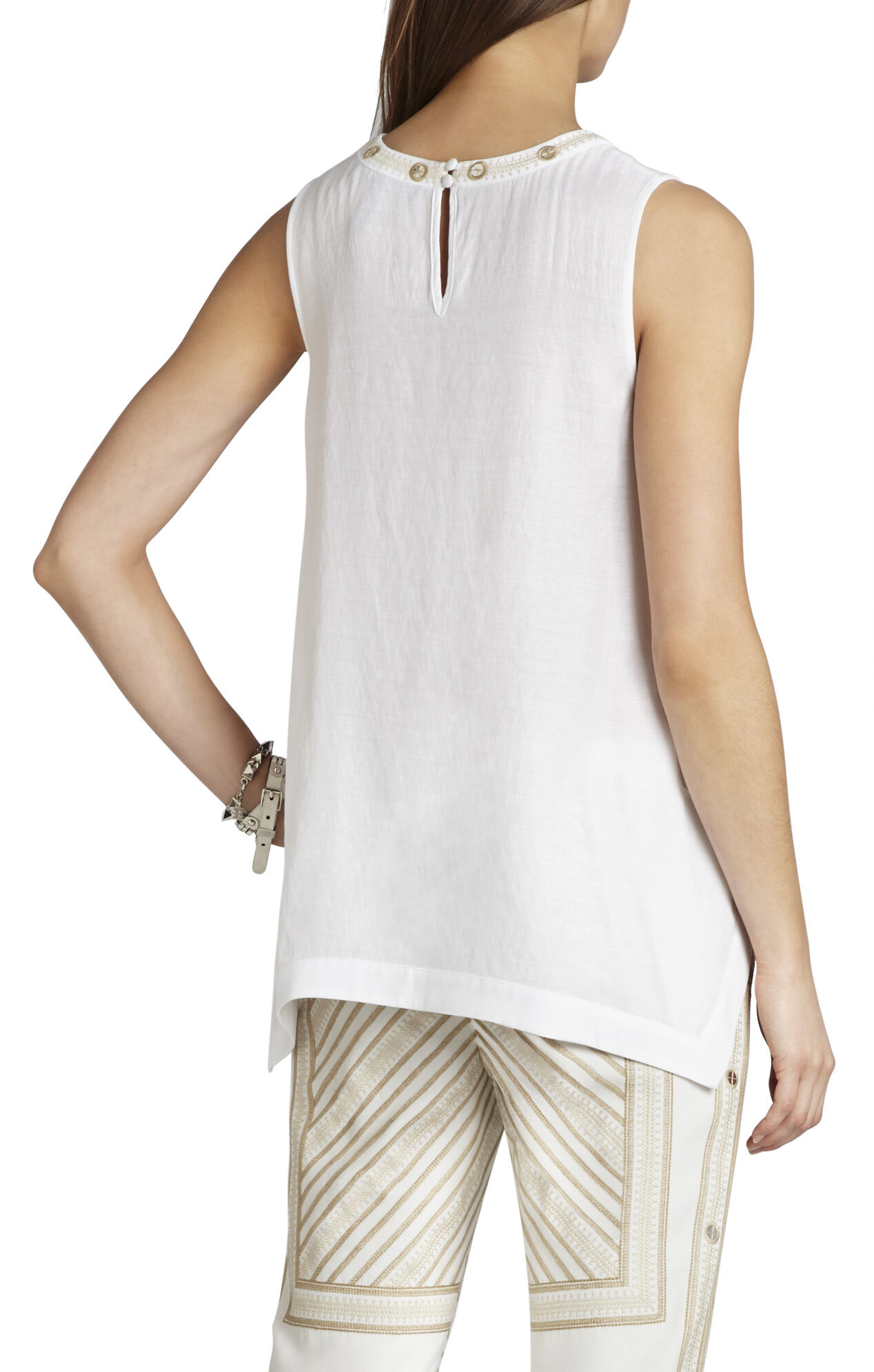 Shirley Embellished Sleeveless Top