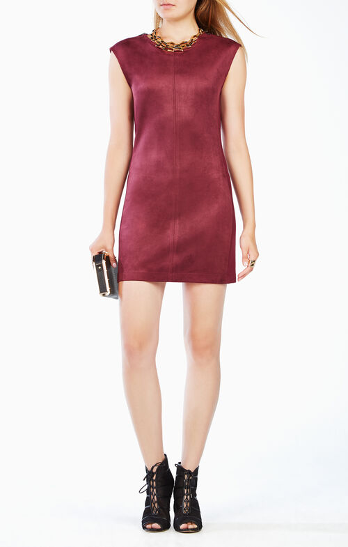 Karlee Faux-Suede Dress