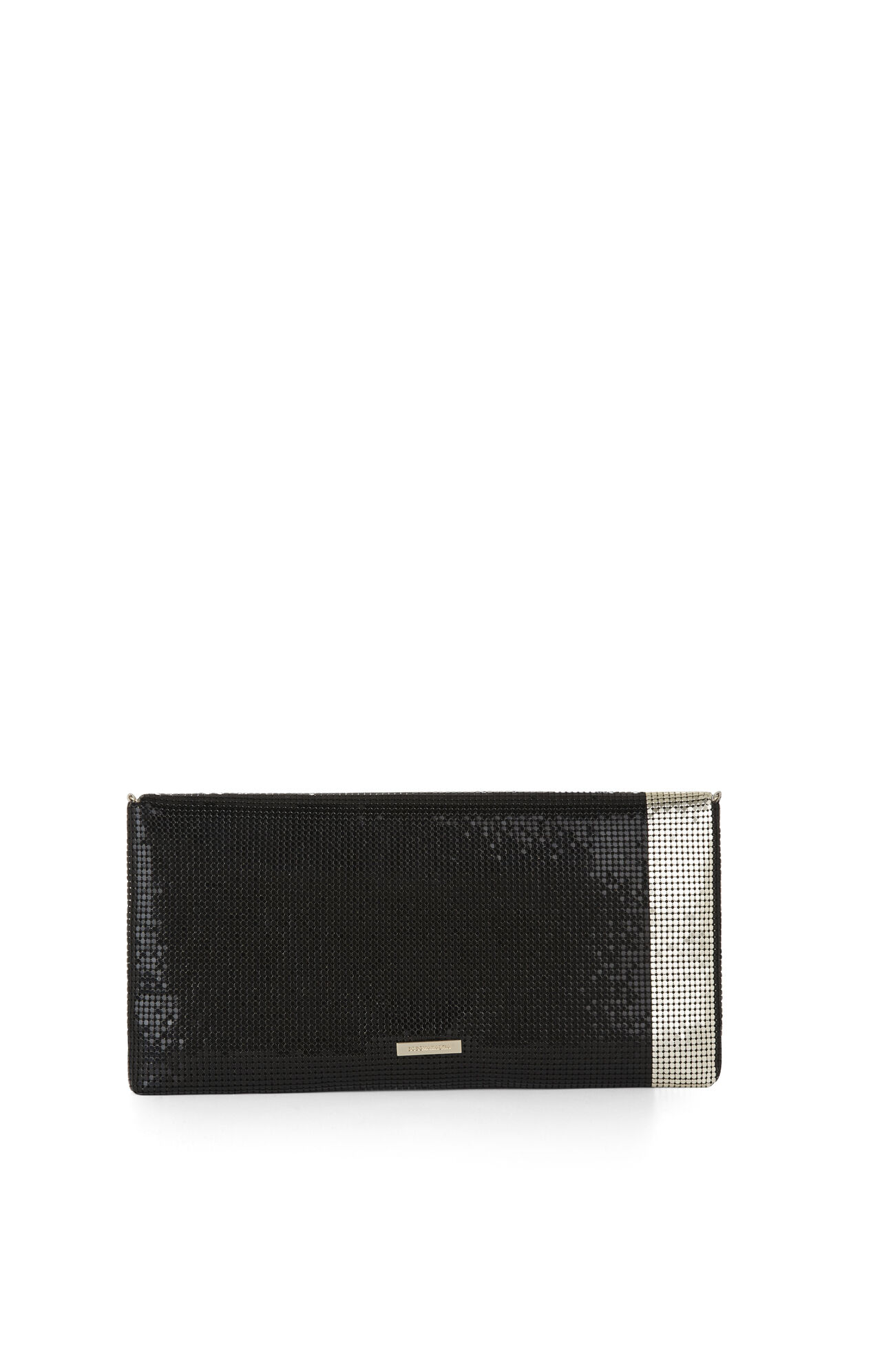 Nadja Metal Mesh Clutch
