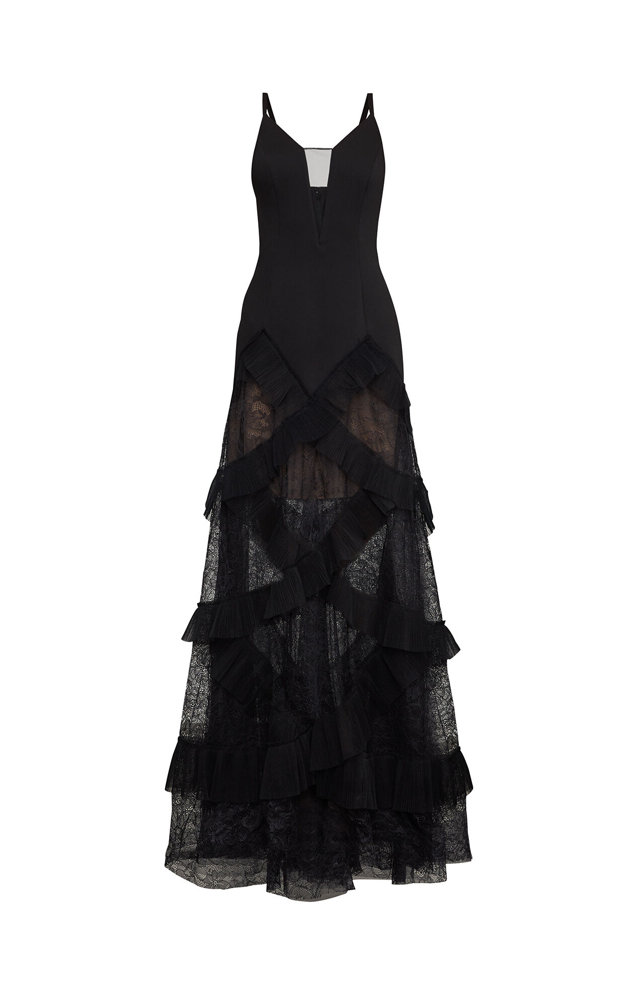 Avaline Pleated Gown