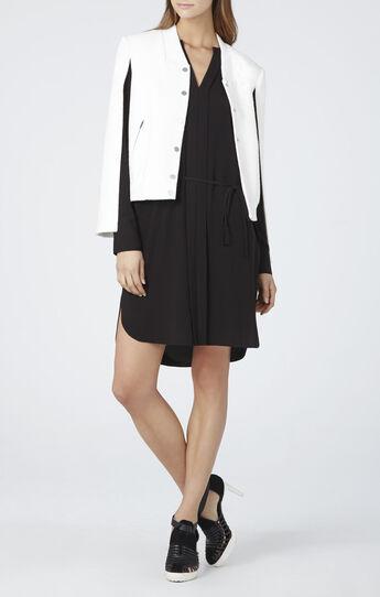 Julee Fold Back Front Drawstring Dress