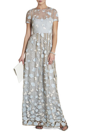 Tasi Embroidered Long Dress