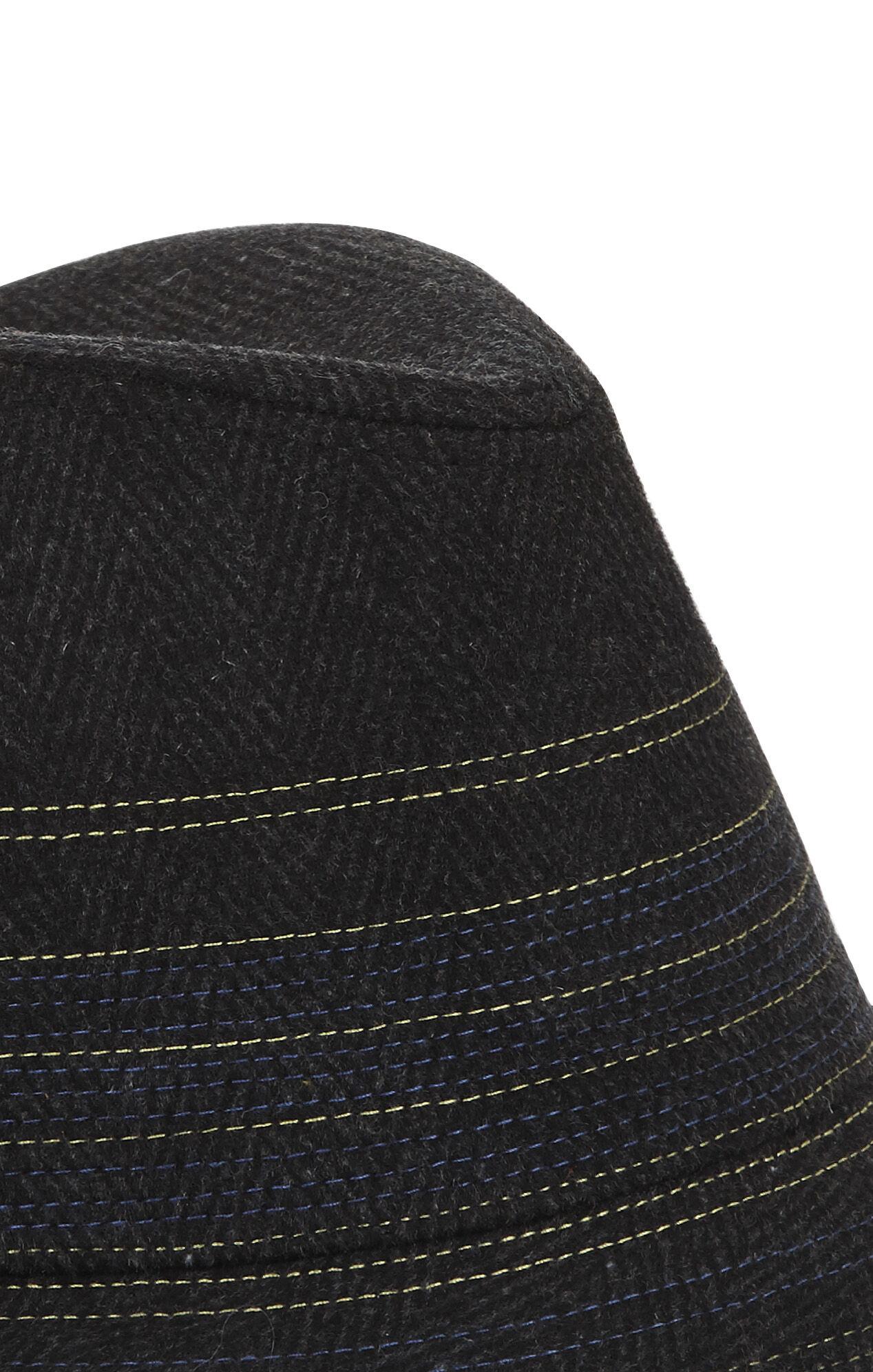Stripe Woven Fedora