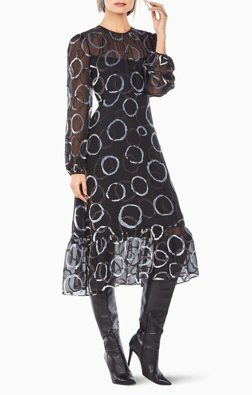 Lydiah Printed Midi Dress