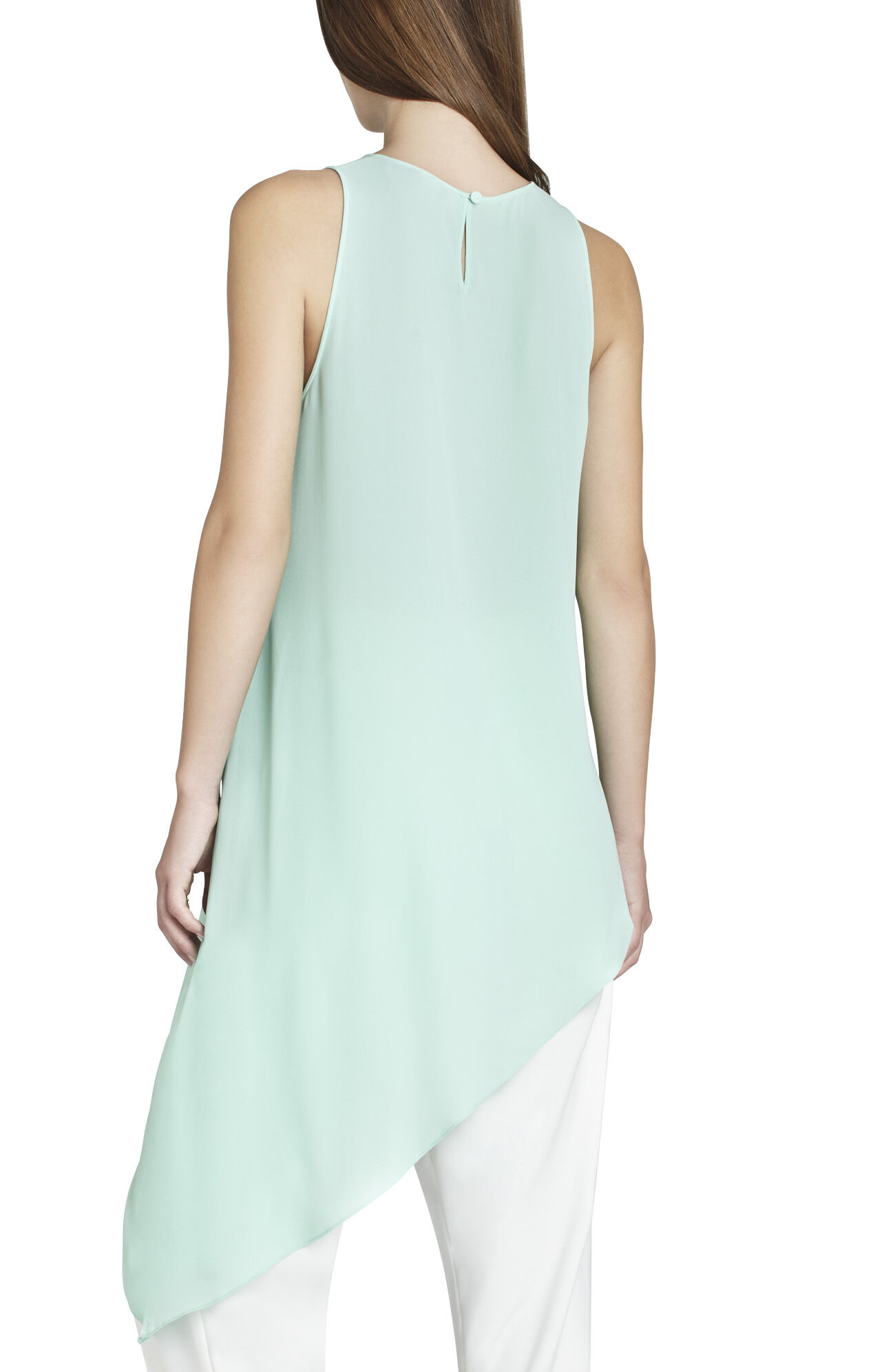 Kenda Sleeveless Asymmetrical Top