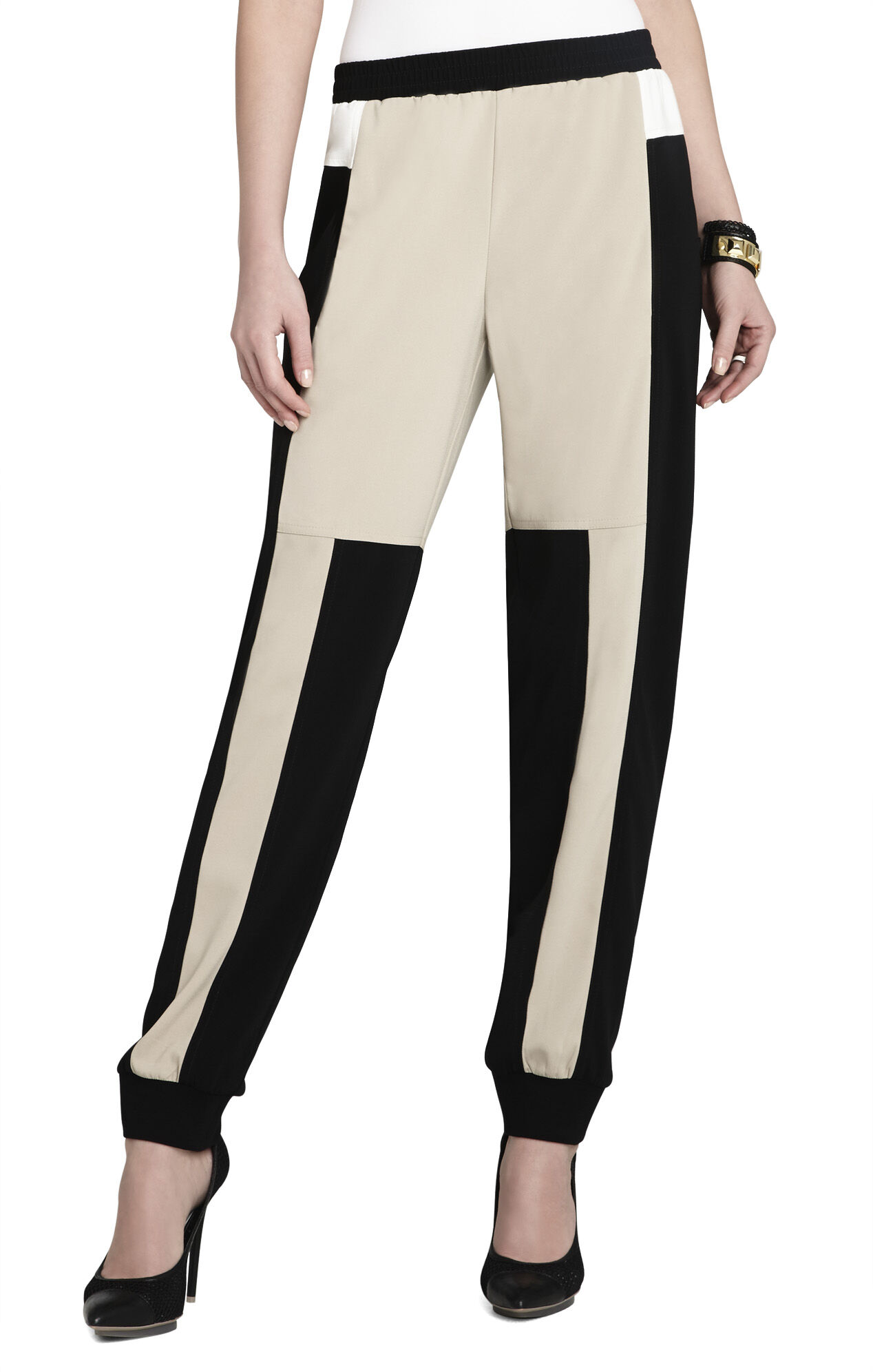 Navin Color-Blocked Pant
