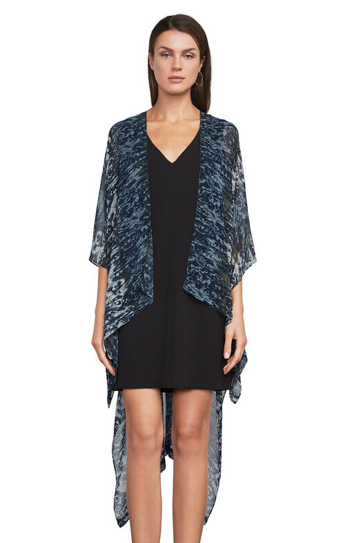 Finnigan Ikat-Print Cover-Up