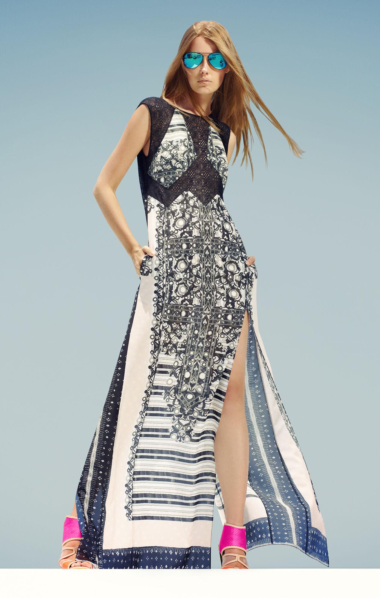 Runway Ace Fringe-Trim Dress