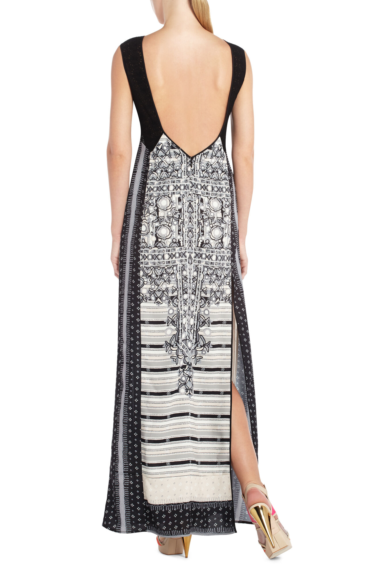 Runway Ace Fringe-Trim Dress