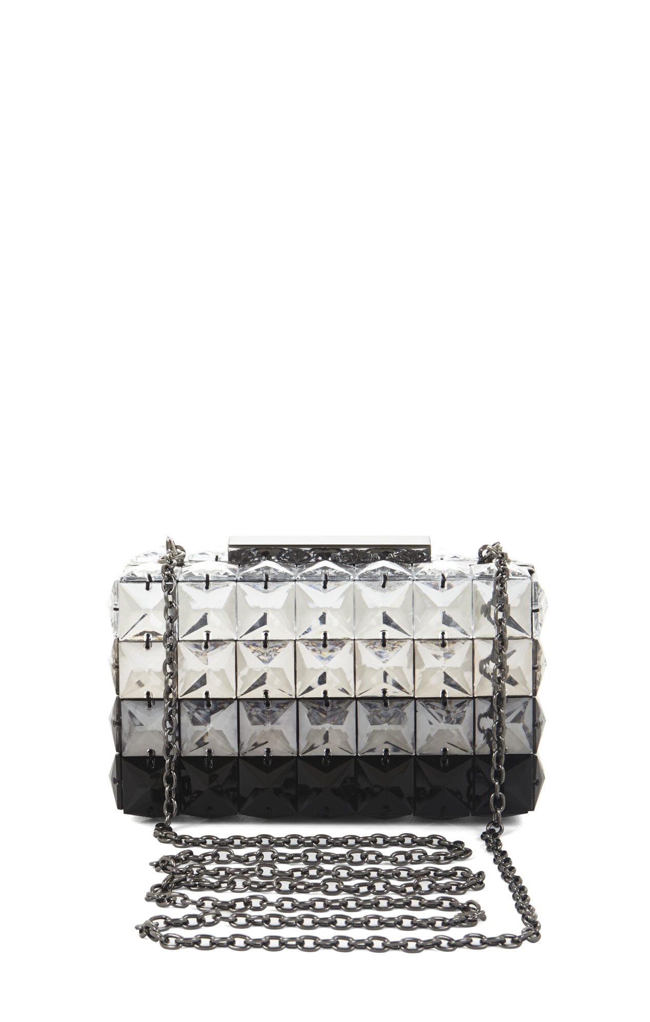 Lulu Ombre Faux-Crystal Bead Clutch
